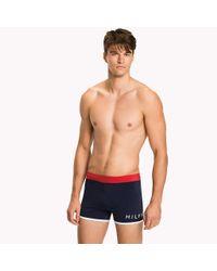 Tommy Hilfiger Blue Swim Trunks for men