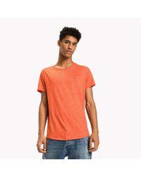 Tommy Hilfiger Orange Slim Fit T-shirt for men