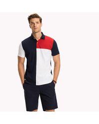 Tommy Hilfiger Blue Vintage Slim Fit Polo Shirt for men