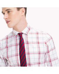 Tommy Hilfiger Multicolor Oxford Cotton Check Shirt for men