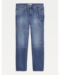 Tommy Hilfiger Blue Skater Chain Jeans for men