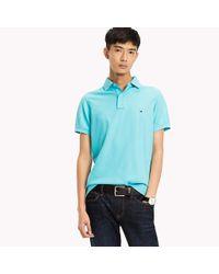 Tommy Hilfiger Blue Slim Fit Polo Shirt for men