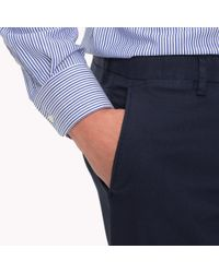 Tommy Hilfiger Blue Slim Fit Trousers for men