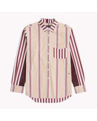 Tommy Hilfiger Multicolor Mixed Stripe Cotton Shirt