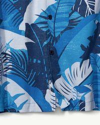 Tommy Bahama Big & Tall Bayou Blues Islandzone® Camp Shirt for men