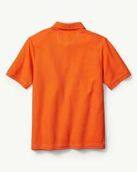 Tommy Bahama Orange The Emfielder Polo for men