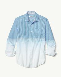 Tommy Bahama Blue Fadeaway Beach Shirt for men