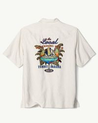 Tommy Bahama - White Original Fit Local Watering Hole Camp Shirt for Men - Lyst