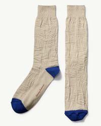 Tommy Bahama Natural Tropical Leaf Socks for men