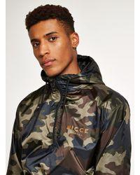 Nicce London Multicolor Khaki Camouflage Jacket for men