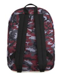 Topman - Multicolor Devote Grey And Red Camo Backpack* for Men - Lyst