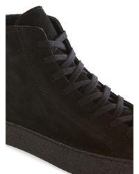 Topman Black Suede Creeper Boot for men
