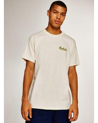 Topman - Natural Ecru 'barbados' T-shirt for Men - Lyst