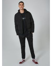 Topman - Black 'legacy' Print T-shirt for Men - Lyst