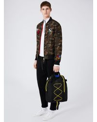 Topman - Black Drawstring Backpack for Men - Lyst