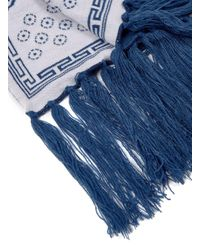 Topman - Blue Paradise Dog Face Scarf for Men - Lyst