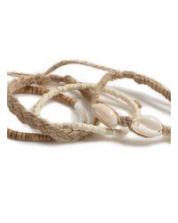 Topman Multicolor Beaded Bracelet Pack for men