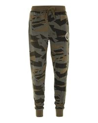 Criminal Damage - Natural Faded Camouflage Joggers* for Men - Lyst