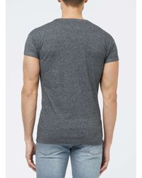TOPMAN - Gray Black San Francisco Print Roller T-shirt for Men - Lyst