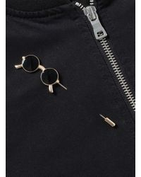TOPMAN - Black Sunglasses Lapel Pin* for Men - Lyst