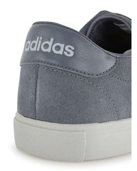 Adidas Originals | Black Grey Suede Daily Line Trainers for Men | Lyst