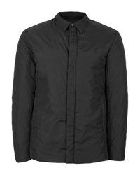 TOPMAN | Selected Homme Black Padded Jacket for Men | Lyst