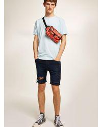 Topman Blue 'unofficial' T-shirt for men