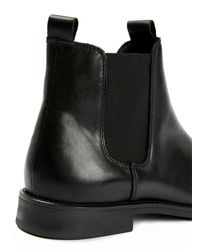SELECTED Black Chelsea Boots for men