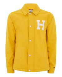 Tommy Hilfiger - Yellow Patch Jacket for Men - Lyst