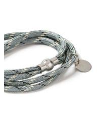 Topman - Gray Grey Abseil Bracelet for Men - Lyst