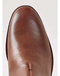 H by Hudson | Brown Hudson Tan Leather Chelsea Boots for Men | Lyst