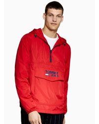 Tommy Hilfiger Red Lightweight Jacket for men