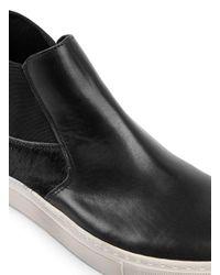 Topman - Black Leather Chukka Boots for Men - Lyst