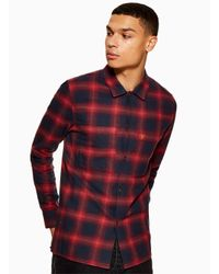Farah Red 'magistra' Shirt for men