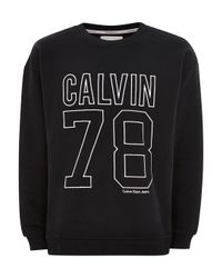 Calvin Klein - White Oversized '78' Hoodie for Men - Lyst