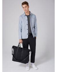 Topman Black Weekender Bag for men