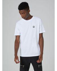 Topman Hymn White Peace Print T-shirt for men