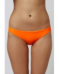 TOPSHOP Orange Bikini Bottoms