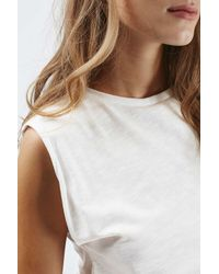 Glamorous - White Embroidered Crop By - Lyst