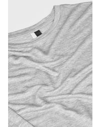 TOPSHOP | Gray Crew Neck Top By Boutique | Lyst