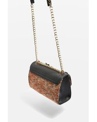 TOPSHOP - Multicolor Oriana Floral Corsage Cross Body Bag - Lyst