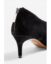 TOPSHOP - Black Jester Pointed Shoe Boots - Lyst