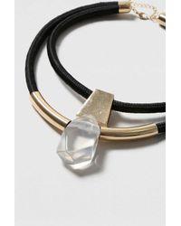 TOPSHOP | Metallic Tube And Shard Multirow Neckwear | Lyst
