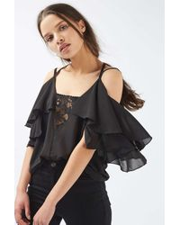 TFNC London Black Abaia Top By