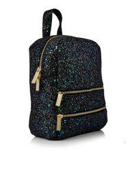 Skinnydip London Black Molly Bug Glitter Backpack By Skinnydip