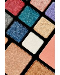 TOPSHOP Multicolor Glitter & Glow Eye And Face Palette