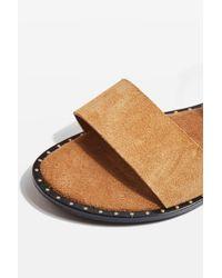 TOPSHOP - Multicolor Holland Sandals - Lyst