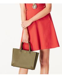 Tory Burch - Pink Robinson Small Zip Tote - Lyst