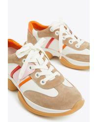 Tory Sport Multicolor Bubble Stripe Sneakers