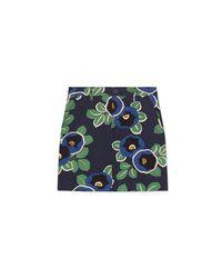 Tory Burch - Blue Millie Skirt - Lyst